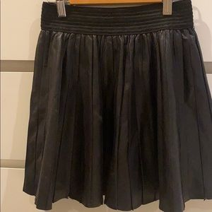 Parker pleated mini skirt